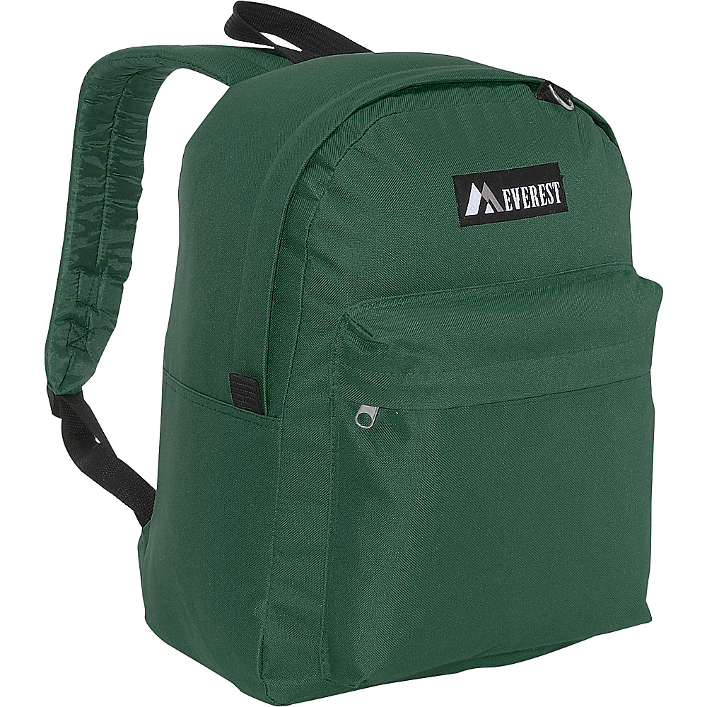 Everest Classic Backpack - Green - Backpacks, Everyday Backpacks