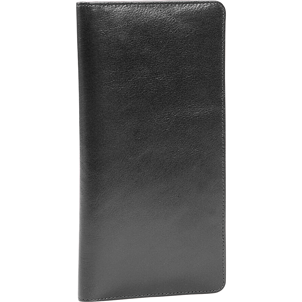 Leatherbay International Travel Leather Wallet - Black