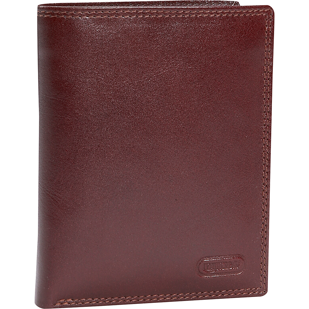 Leatherbay Double Fold Leather Wallet w/Detachable ID - Work Bags & Briefcases, Men's Wallets