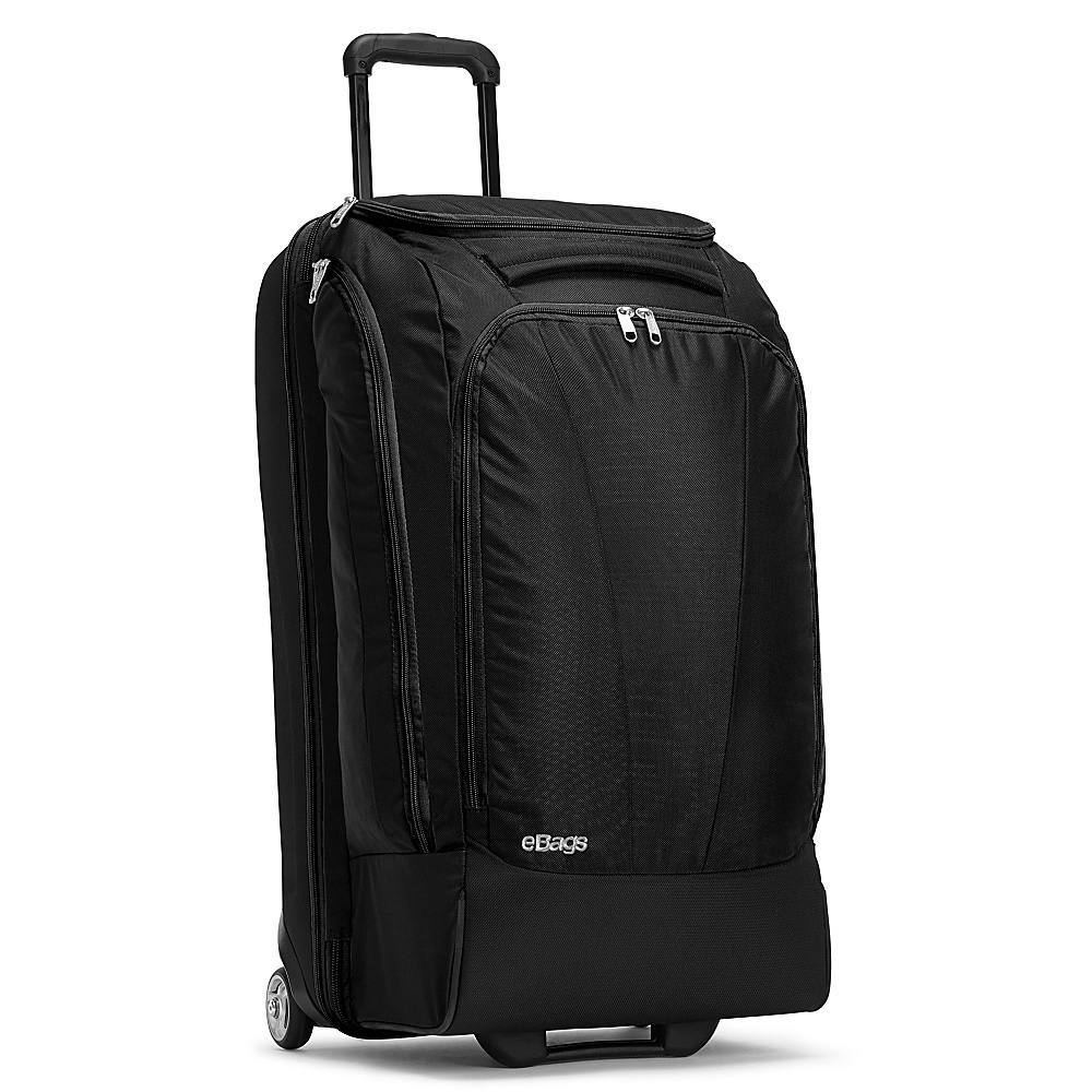 eBags Mother Lode TLS 29 Wheeled Duffel - Solid Black - Luggage, Rolling Duffels