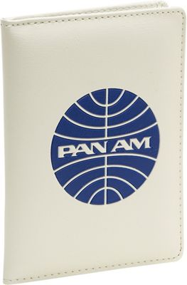 Pan Am Passport Cover Vintage White/Pan Am Blue - Pan Am Travel Wallets