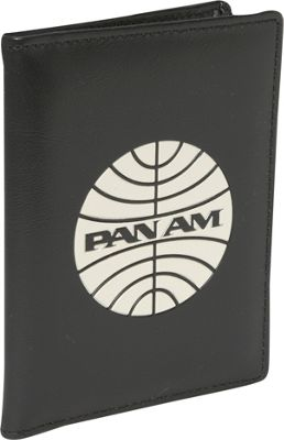 Pan Am Passport Cover Black/Vintage White