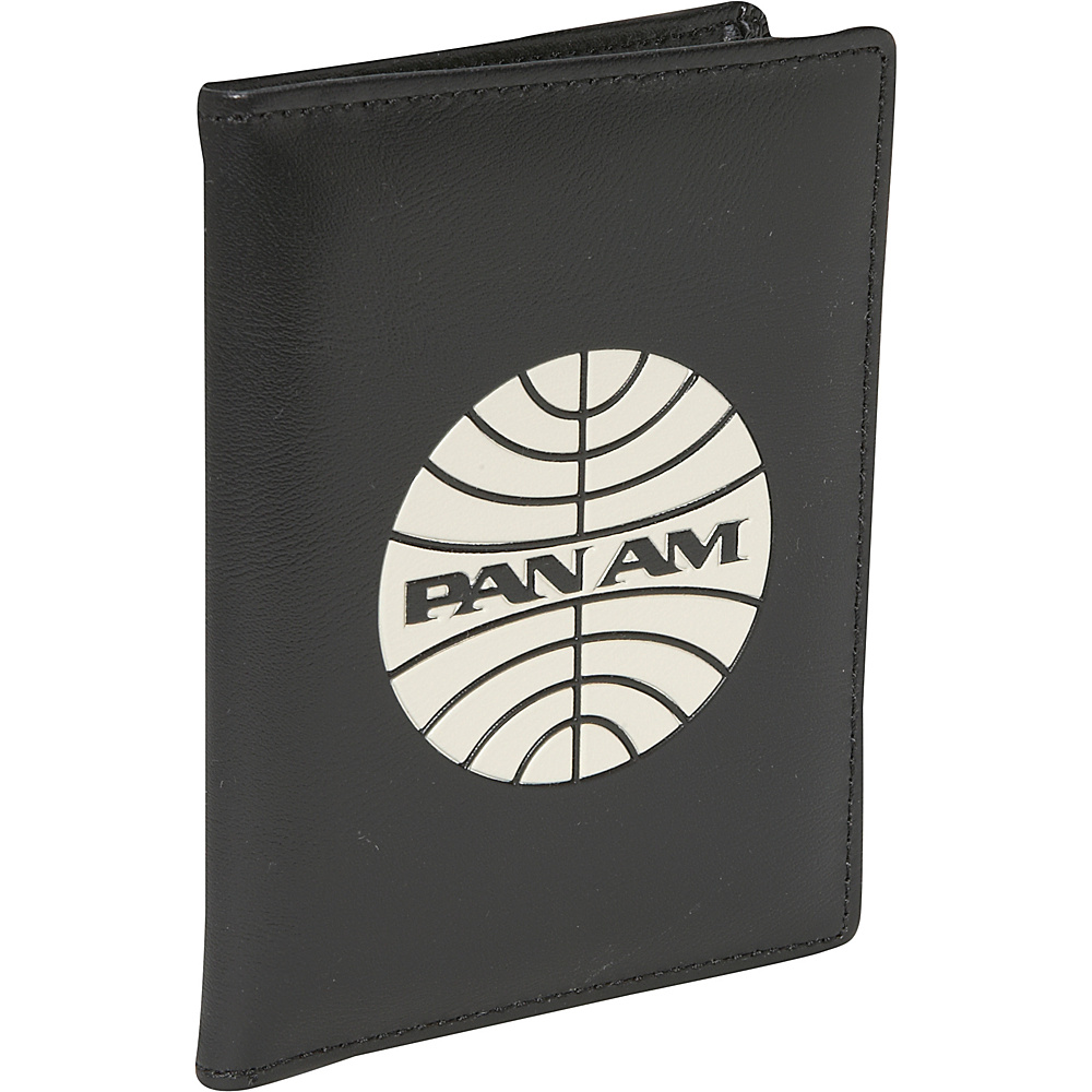 Pan Am Passport Cover Black/Vintage White (BLK) - Pan Am Travel Wallets - Travel Accessories, Travel Wallets