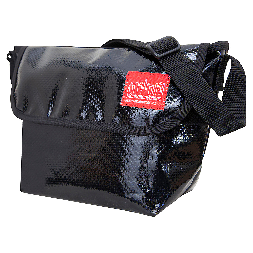 Manhattan Portage Vinyl Mini NY Messenger Bag - Black - Work Bags & Briefcases, Messenger Bags