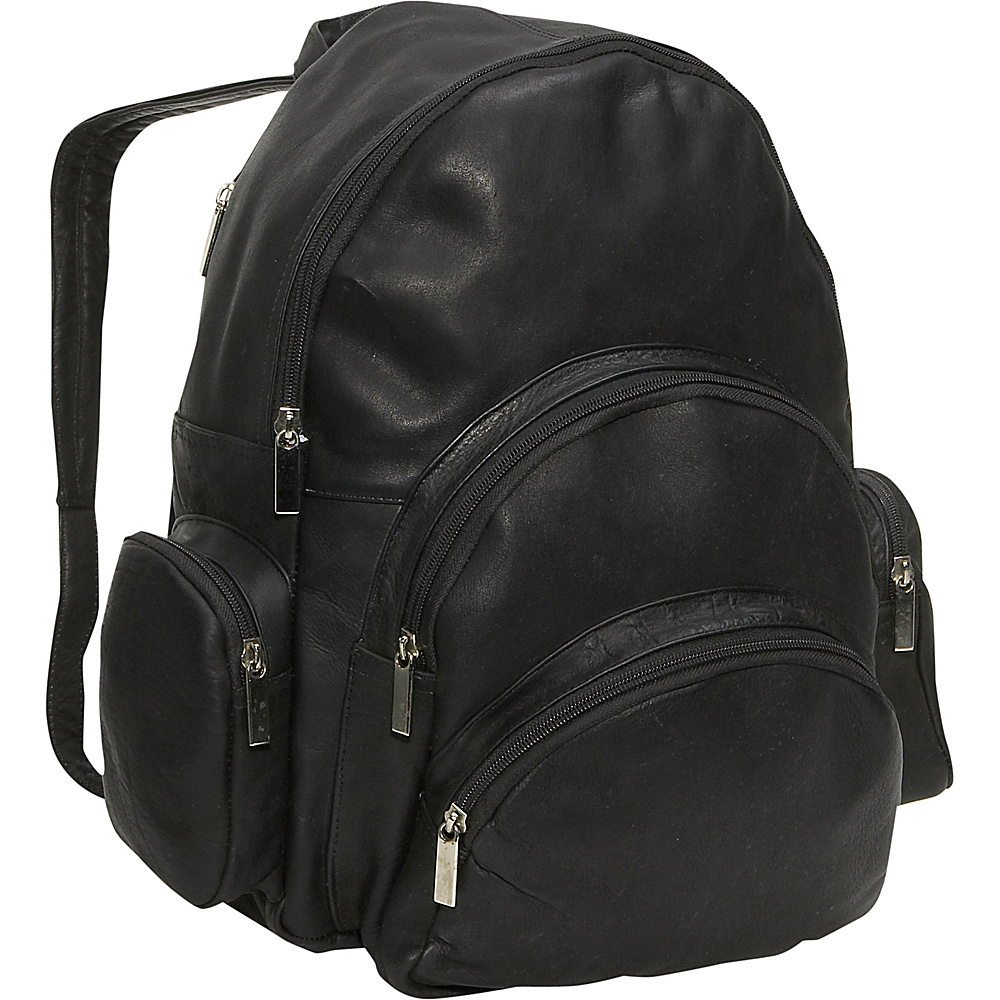 David King & Co. Expandable Backpack Black - David King & Co. Everyday Backpacks