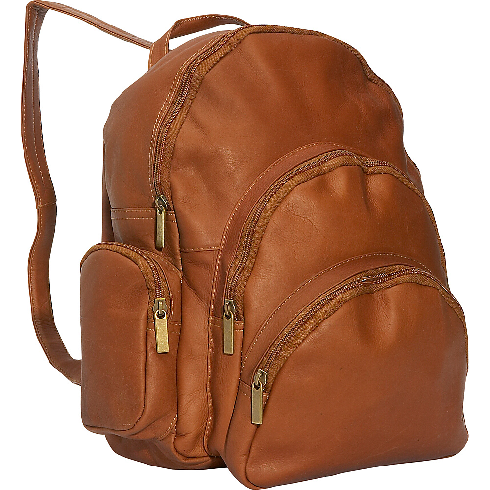 David King & Co. Expandable Backpack Tan - David King & Co. Everyday Backpacks - Backpacks, Everyday Backpacks