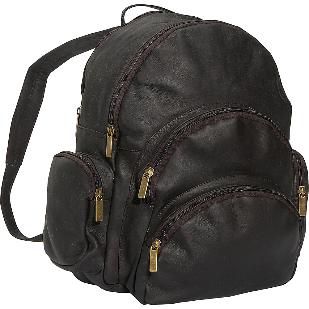 David King & Co. Expandable Backpack Cafe - David King & Co. Everyday Backpacks - Backpacks, Everyday Backpacks