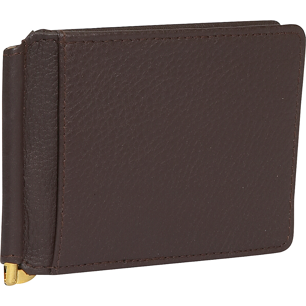 Derek Alexander Bill Clip with Credit Card Slots - Work Bags & Briefcases, Men's Wallets