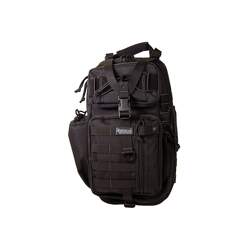 Maxpedition SITKA GEARSLINGER - Black - Outdoor, Day Hiking Backpacks