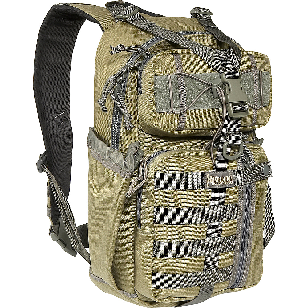 Maxpedition SITKA GEARSLINGER - Khaki Foliage - Outdoor, Day Hiking Backpacks