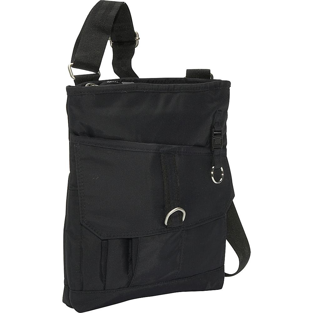 Derek Alexander Top Zip Front Flap Organizer - Cross Body - Handbags, Fabric Handbags
