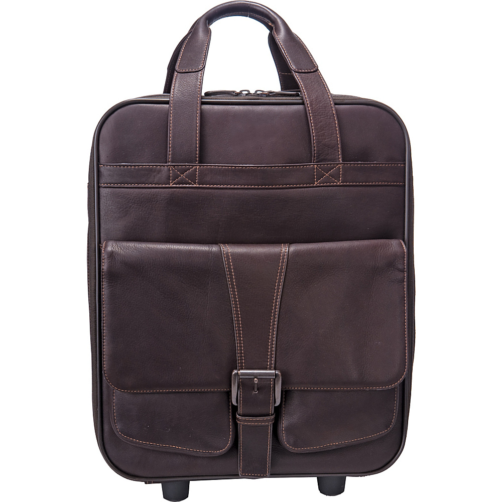 Jill E Jack Large Rolling Camera Bag Rich Brown