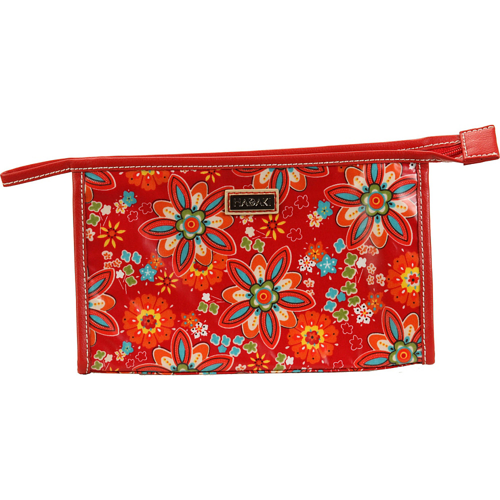 Hadaki Printed Coated Toiletry Pod Primavera Floral - Hadaki Toiletry Kits - Travel Accessories, Toiletry Kits