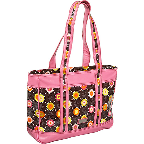 Hadaki Free Spirit Leather/Coated Print Tote - Tote