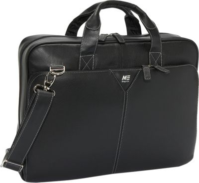 """Mobile Edge Deluxe Leather Laptop Briefcase - 15.4"""""""""""
