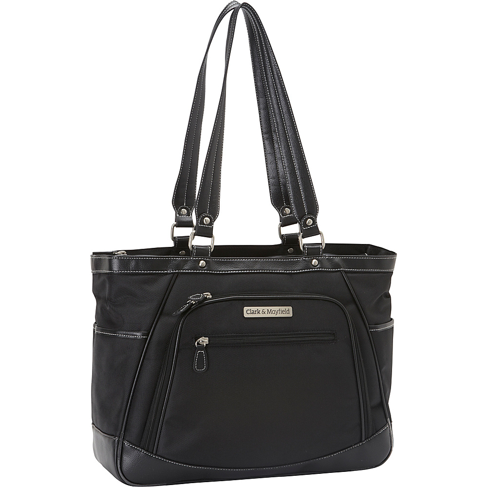 "Clark & Mayfield Sellwood Metro Laptop Handbag 15.6"" Black - Clark & Mayfield Women's Business Bags"