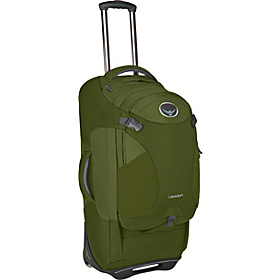 Meridian 28'' Rolling Duffel and Backpack Patina Green