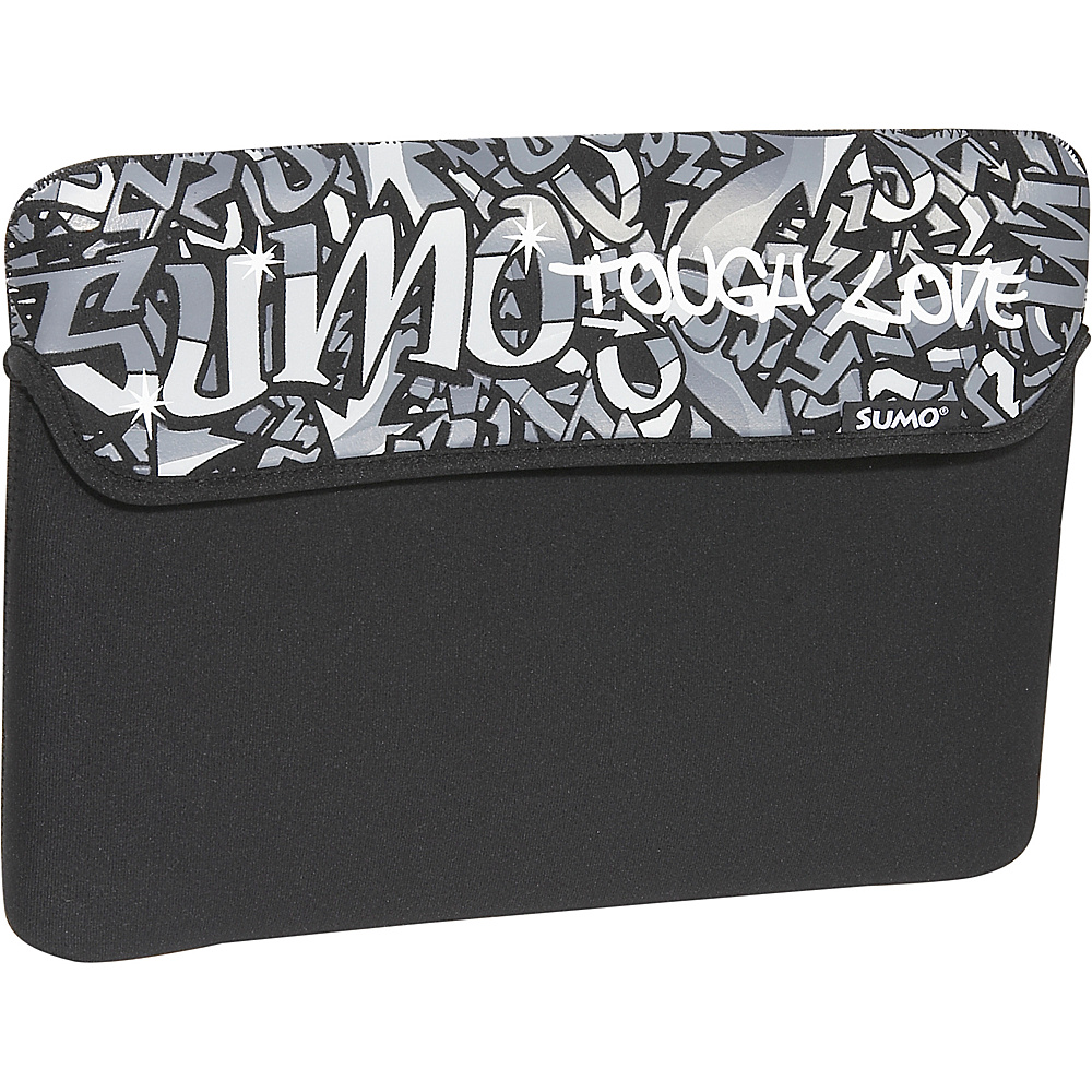 Sumo Graffiti iPad Netbook Sleeve Black