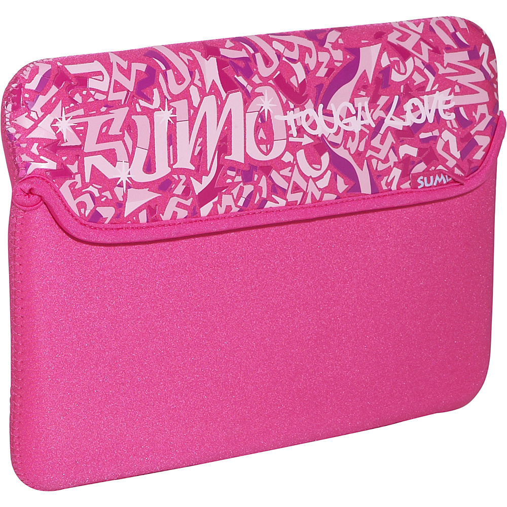 Sumo Graffiti iPad Netbook Sleeve Pink