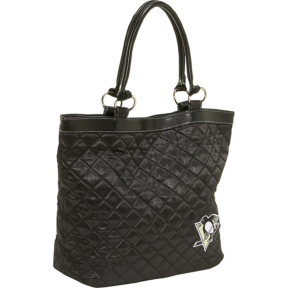 Littlearth Quilted Tote - Pittsburgh Penguins Pittsburgh Penguins - Littlearth Fabric Handbags