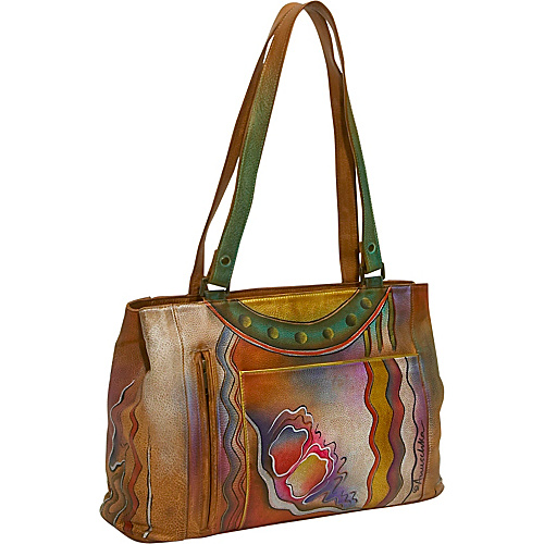 Anuschka Large Shopper: Abstract Classic - Abstract