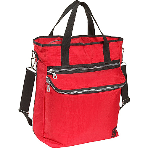 Ice Red Sirocco Urban Laptop Tote - Red