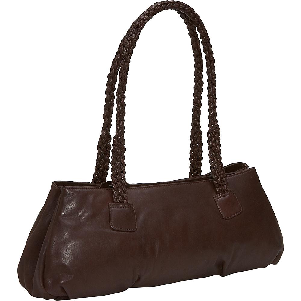 Derek Alexander Mid size top zip with braided shoulder - Handbags, Leather Handbags
