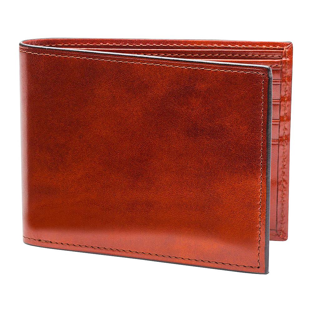 Bosca Old Leather Continental I.D. Wallet Cognac - Bosca Men's Wallets