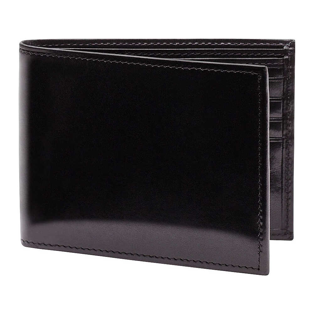 Bosca Old Leather Continental I.D. Wallet - Black - Work Bags & Briefcases, Men's Wallets
