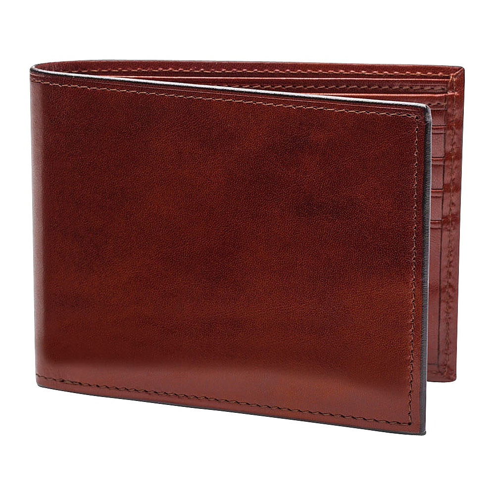 Bosca Old Leather Continental I.D. Wallet - Dark Brown - Work Bags & Briefcases, Men's Wallets