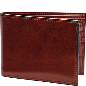 Old Leather Continental I.D. Wallet Dark Brown