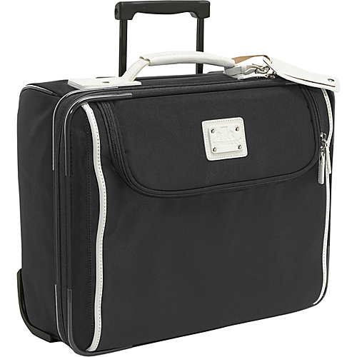 Rowallan Lauren Overnight Trolley Bag - Black and White
