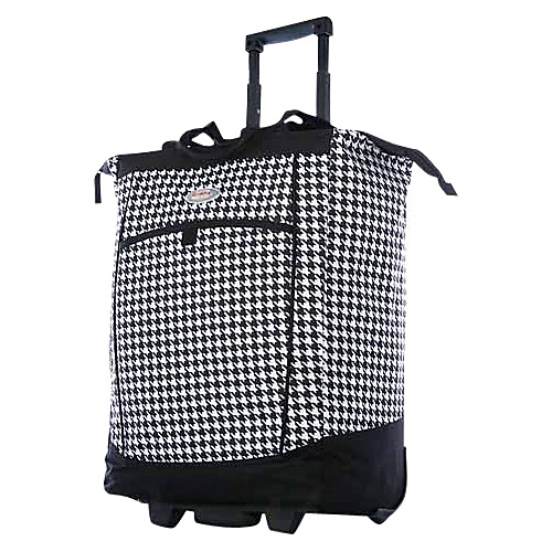 Olympia Shopper Tote HOUNDSTOOTH - Olympia Small Rolling Luggage