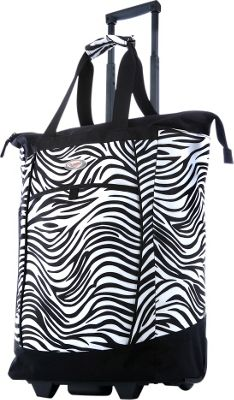 Olympia USA Shopper Tote Bag - 20 inch Zebra - Olympia USA Softside Carry-On