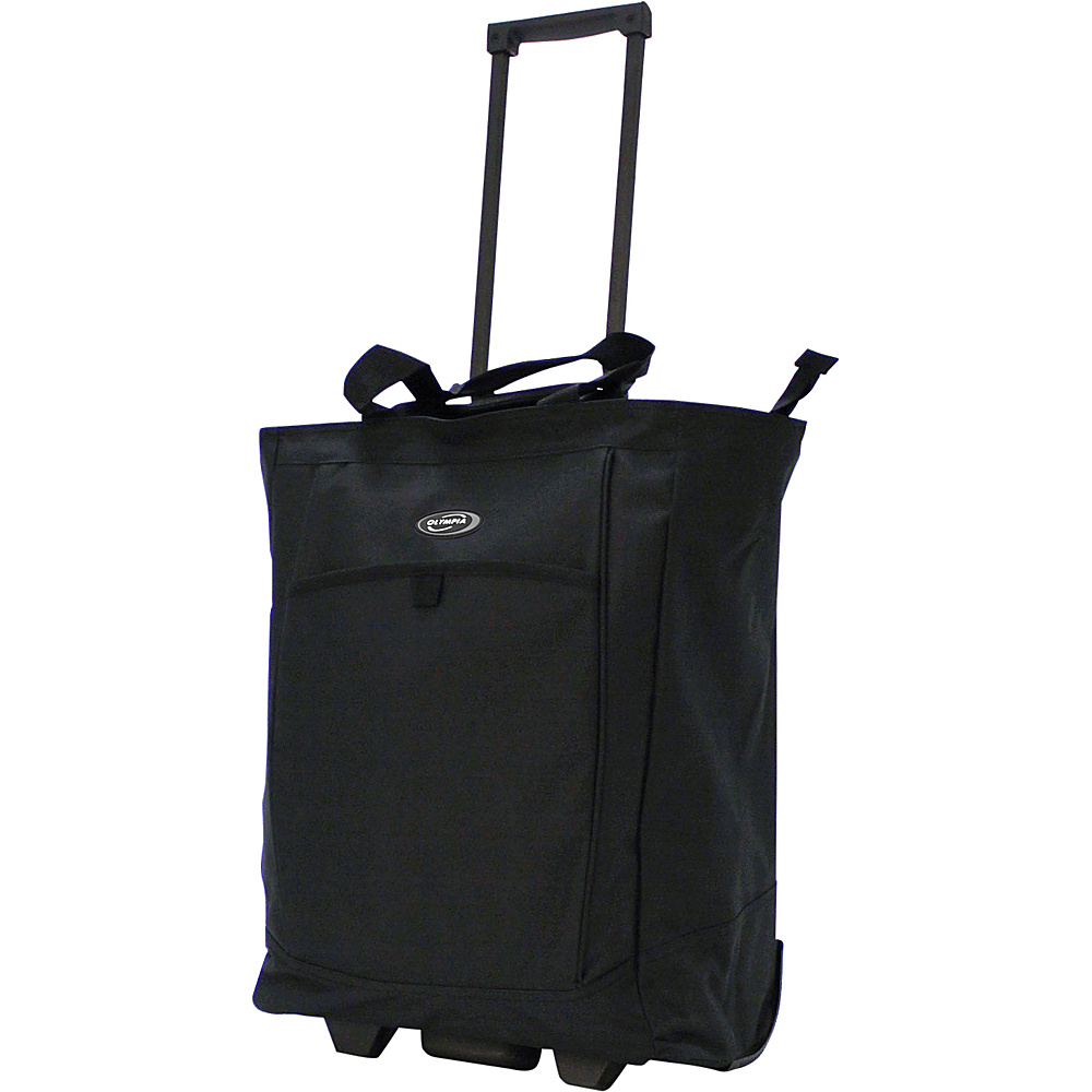 Olympia Shopper Tote - Black - Luggage, Softside Carry-On