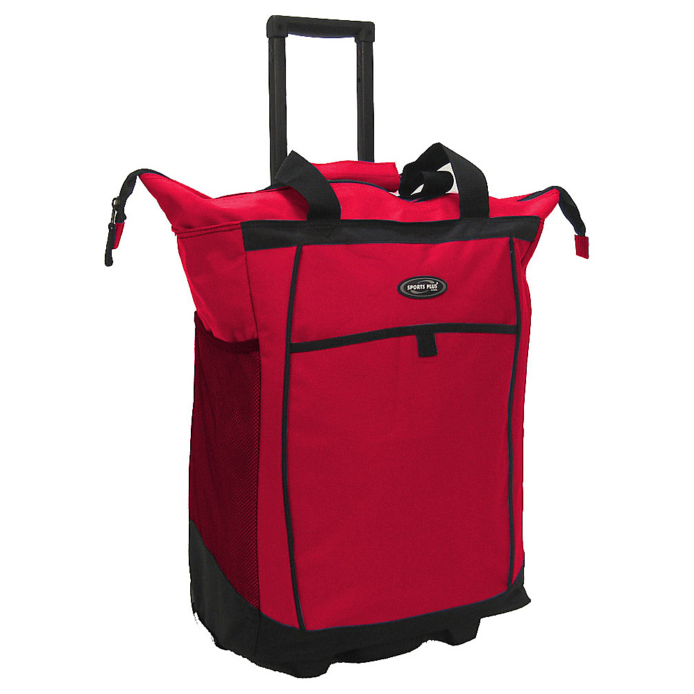 Olympia Shopper Tote - Red - Luggage, Softside Carry-On