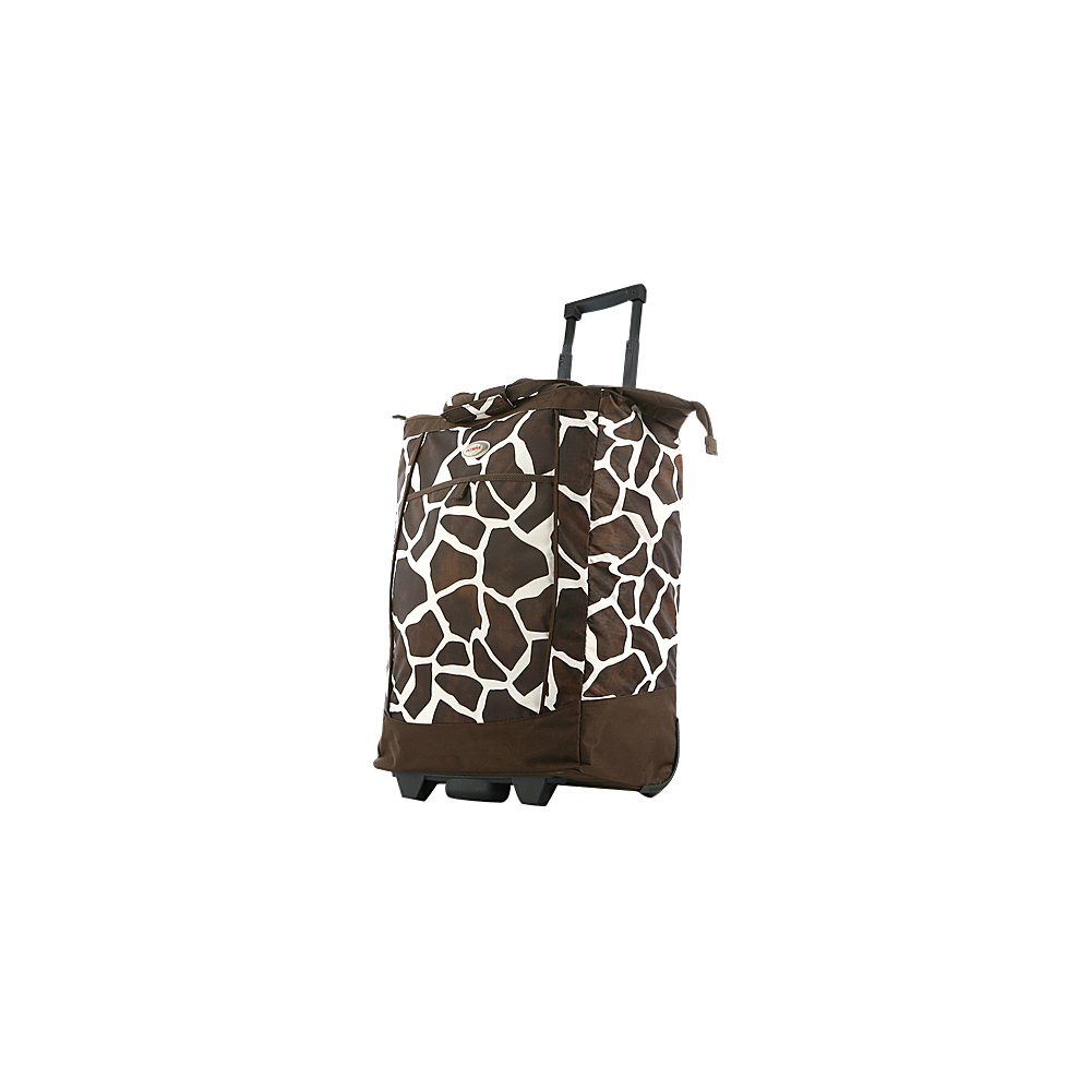 Olympia Shopper Tote Giraffe - Olympia Softside Carry-On