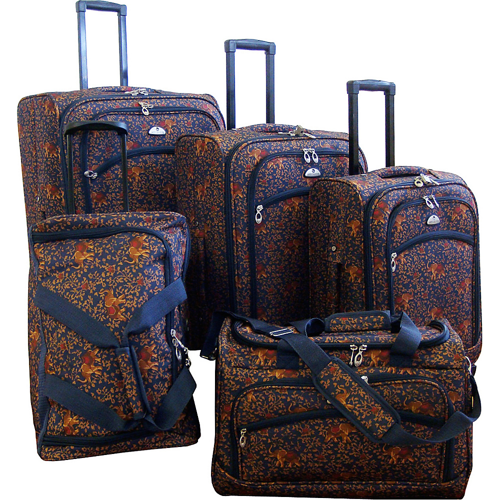 American Flyer Budapest 5 pc Spinners Luggage Set