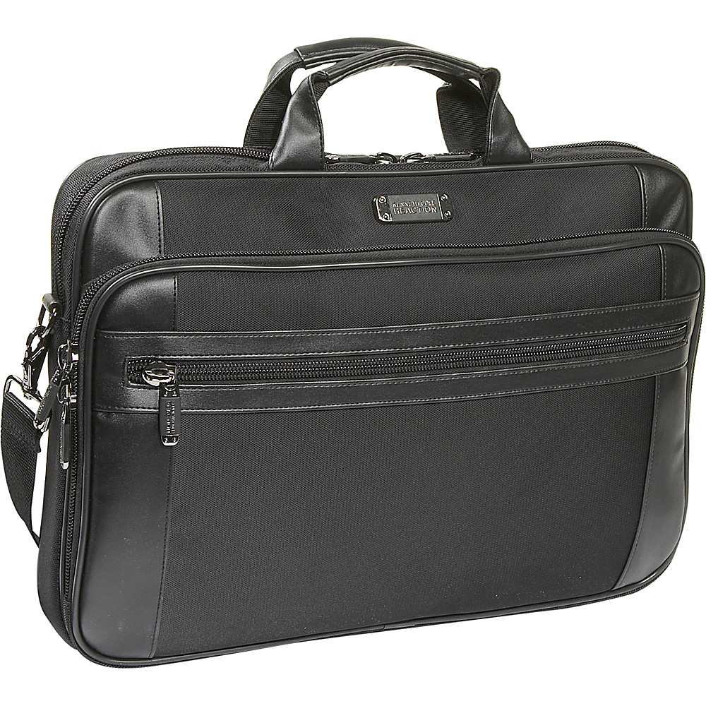 Kenneth Cole Reaction R-Tech 18 Laptop Case - Black - Work Bags & Briefcases, Non-Wheeled Business Cases