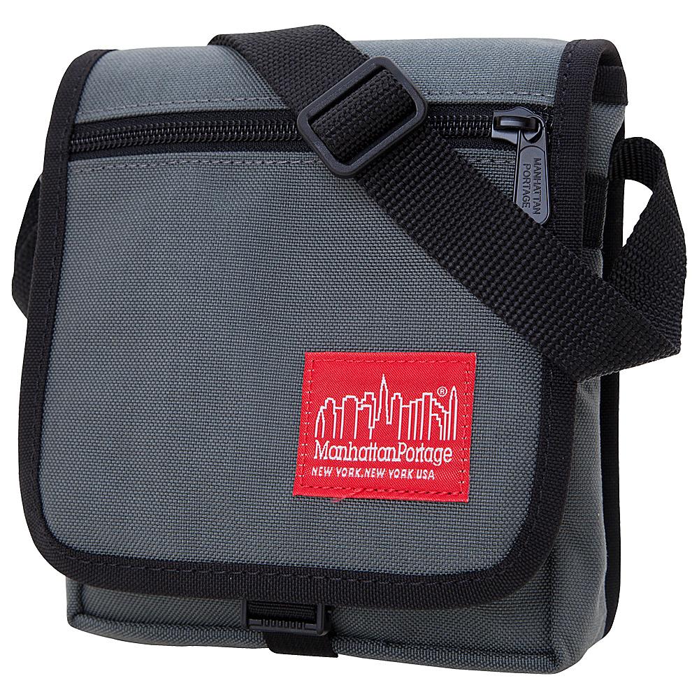 Manhattan Portage East Village Bag - Gray - Work Bags & Briefcases, Messenger Bags