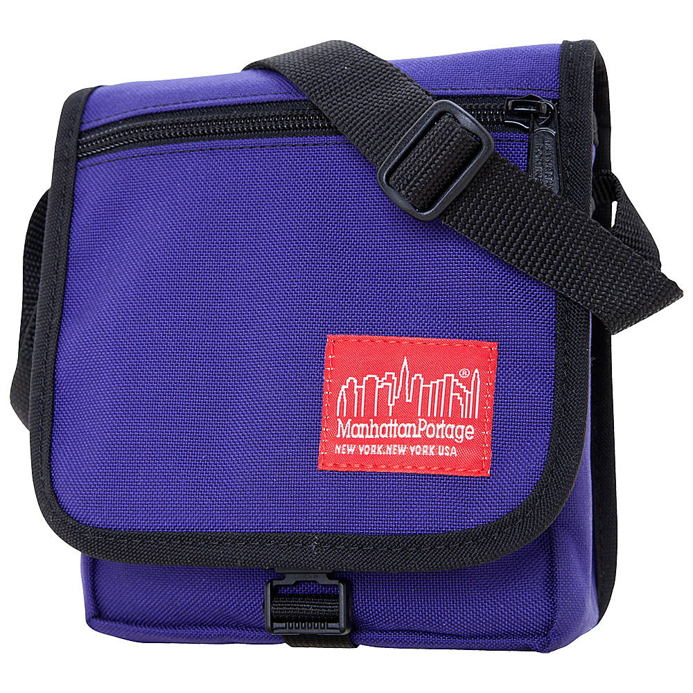 Manhattan Portage East Village Bag Purple - Manhattan Portage Messenger Bags - Work Bags & Briefcases, Messenger Bags