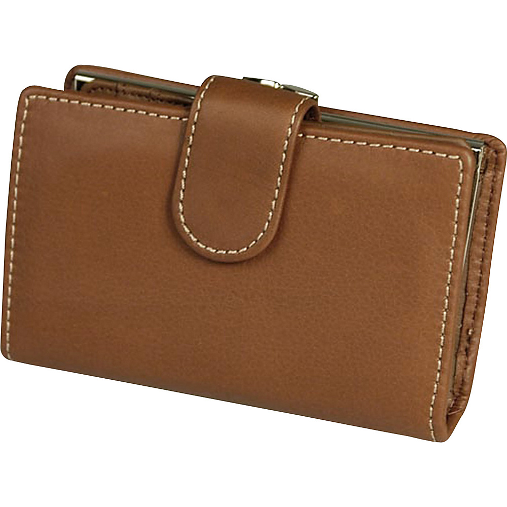 Mundi Rio Tab Frame Indexer - Brown - Women's SLG, Women's Wallets
