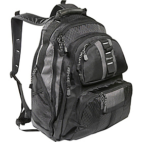 Sport Standard 15'' Nylon Notebook Backpack Black/Platinum