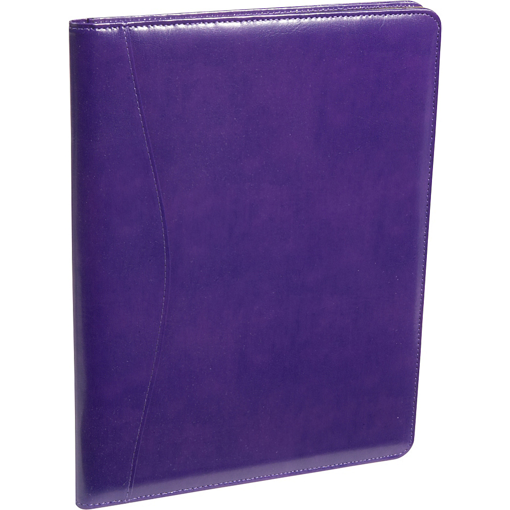 Royce Leather Aristo Padfolio Plum - Royce Leather Business Accessories - Work Bags & Briefcases, Business Accessories