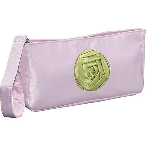 Global Elements Large Satin Clutch Wristlet - Clutch