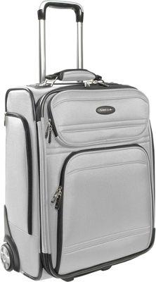 Samsonite DKX 21 Exp Upright Silver Samsonite Small Rolling Luggage