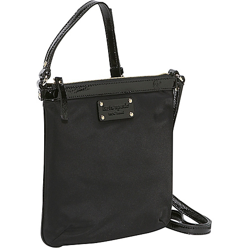 kate spade new york Nylon Thomas Black - kate spade new york Designer Handbags
