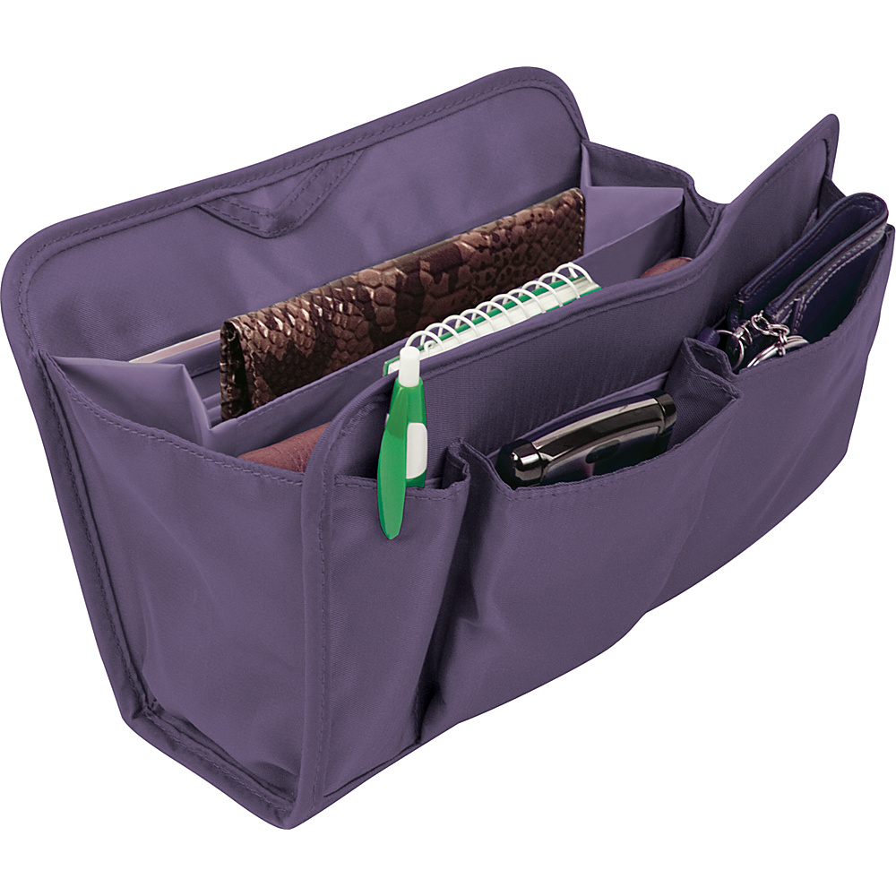 Travelon RFID Blocking Purse Organizer Lg. - Eggplant - Women's SLG, Women's SLG Other