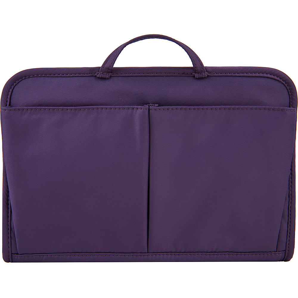 Travelon RFID Blocking Purse Organizer Lg. Purple/Blue Interior - Travelon Womens SLG Other - Women's SLG, Women's SLG Other
