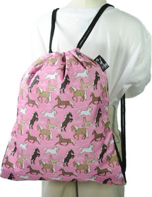 Wildkin Horses in Pink Back Sack